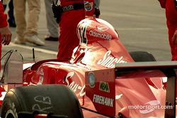 Pre-race gridding