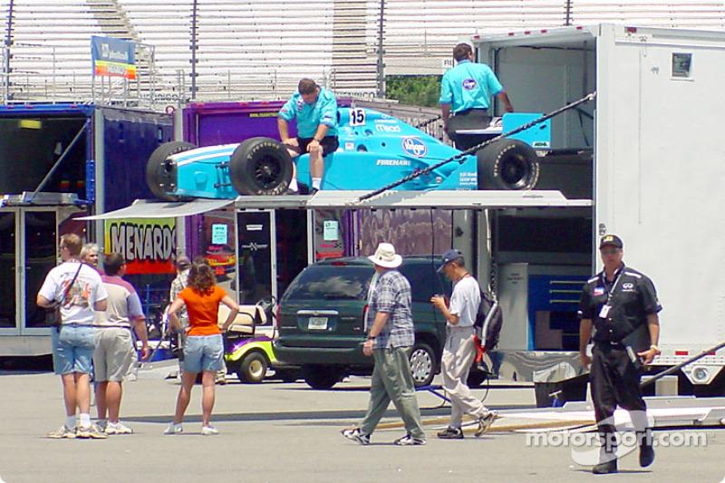 Walker Racing arriving