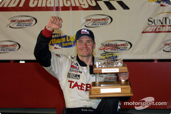 Race winner Buddy Lazier