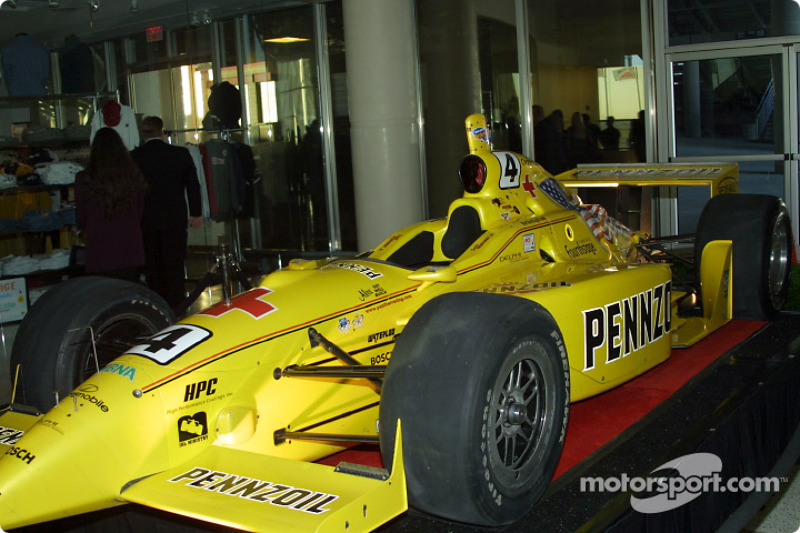 Sam Hornish Jr.'s title winning car