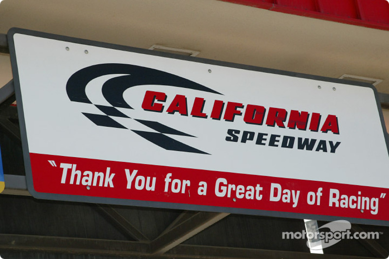 Welcome to California Speedway