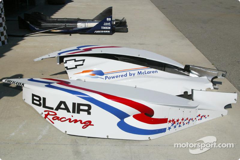 Blair Racing garage area