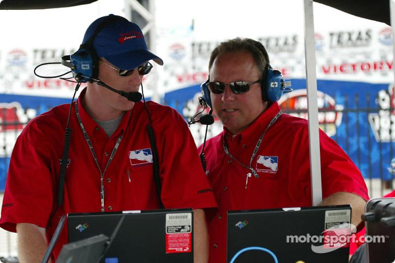 IRL's John Lewis and Brian Barnhart