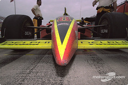 Scott Sharp's car after the race