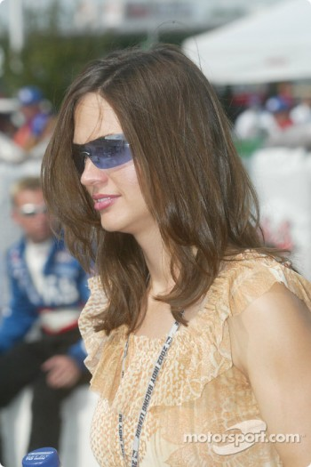 Buddy Lazier's wife Kara