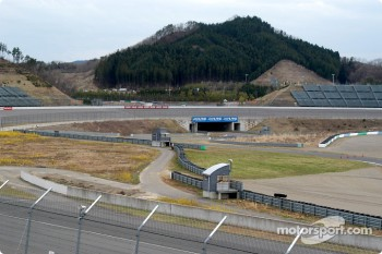 A view of the Twin Ring Motegi track