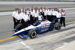 Jimmy Vasser with Team Rahal