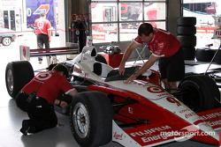 Chip Ganassi Racing garage area