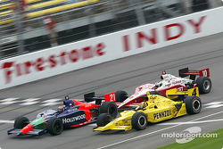 Alex Barron, Sam Hornish Jr. and Tomas Scheckter