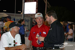 Rick Mears, Johnny Rutherford and Eddie Gossage