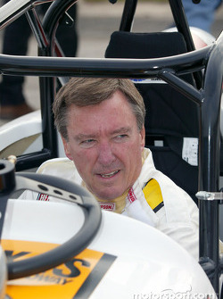 Practice session 1: Johnny Rutherford