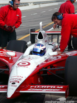 Target Chip Ganassi Racing and Scott Dixon are getting ready for the Month of May 2004