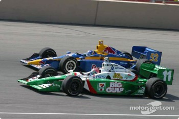 Tony Kanaan and Buddy Rice