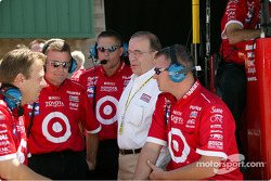 The Target Chip Ganassi crew discusses race strategy