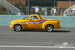 Pace lap: Chevrolet SSR official pace vehicle