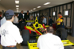 Kelley Racing car at technical inspection