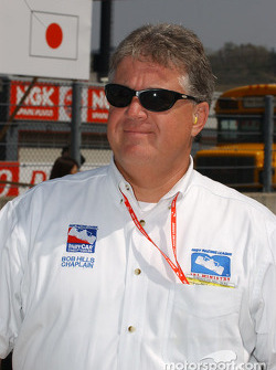 Indy Racing League Ministry chaplain Bob Hills