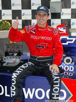 Race winner Felipe Giaffone