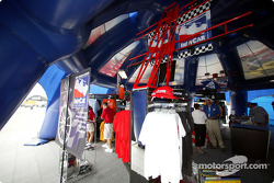 Indy Racing League merchandising area