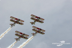 Aerial show by Red Baron