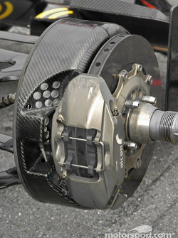 Dallara right front brake