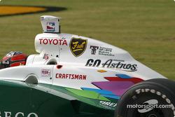 Sponsorship on A.J. Foyt IV's car