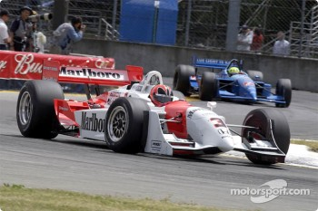 Helio Castroneves and Christian Fittipaldi