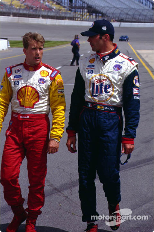 Kenny and Max after qualifying