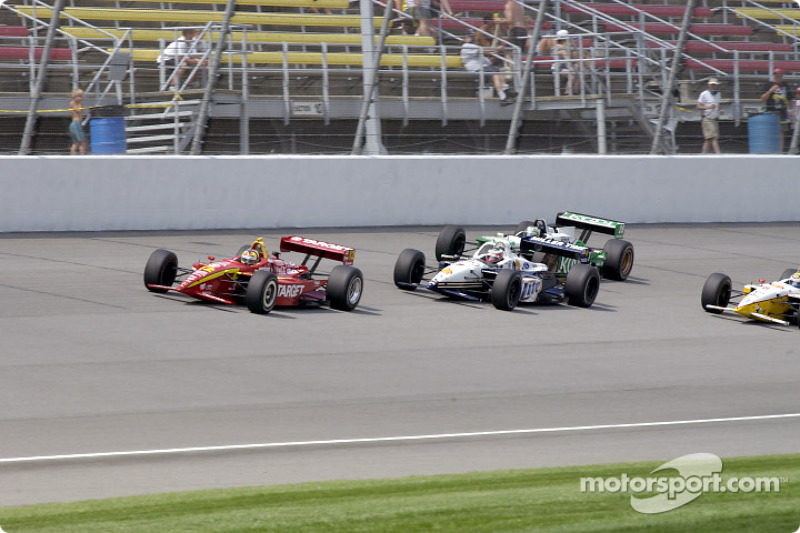 Memo Gidley, Max Papis and Paul Tracy