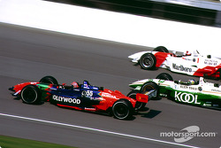 Tony Kanaan, Paul Tracy and Gil de Ferran