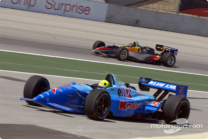 Christian Fittipaldi and Oriol Servia