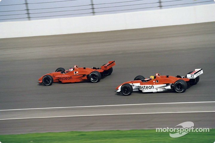 Jimmy Vasser and Roberto Moreno