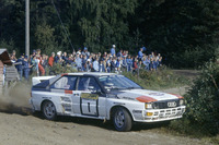 WRC Foto - Hannu Mikkola, Arne Hertz, Audi Quattro A2
