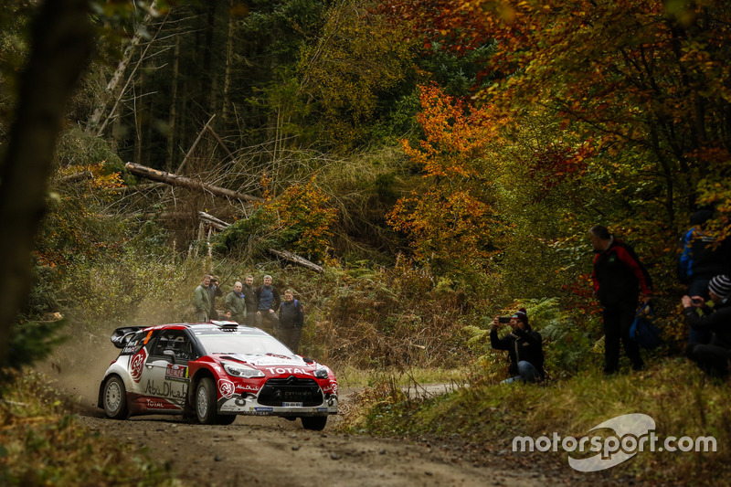 Craig Breen, Scott Martin, Citroën DS3 WRC
