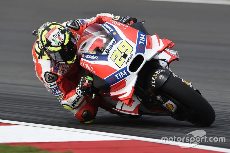 Ausgefallen: Andrea Iannone, Ducati Team