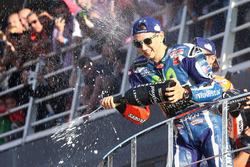 Podium: 1. Jorge Lorenzo, Yamaha Factory Racing