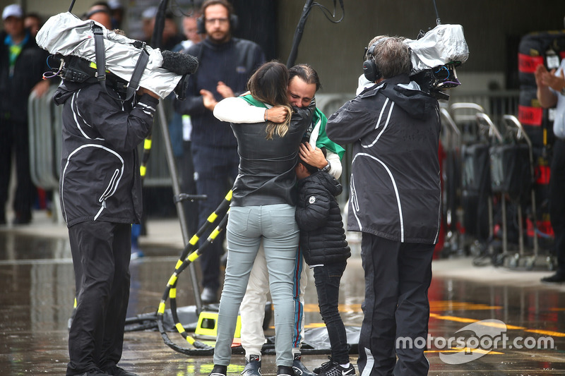 Felipe Massa mit Frau und Sohn