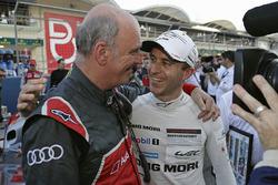 Dr. Wolfgang Ullrich, Audi-Motorsportchef; Timo Bernhard, Porsche Team