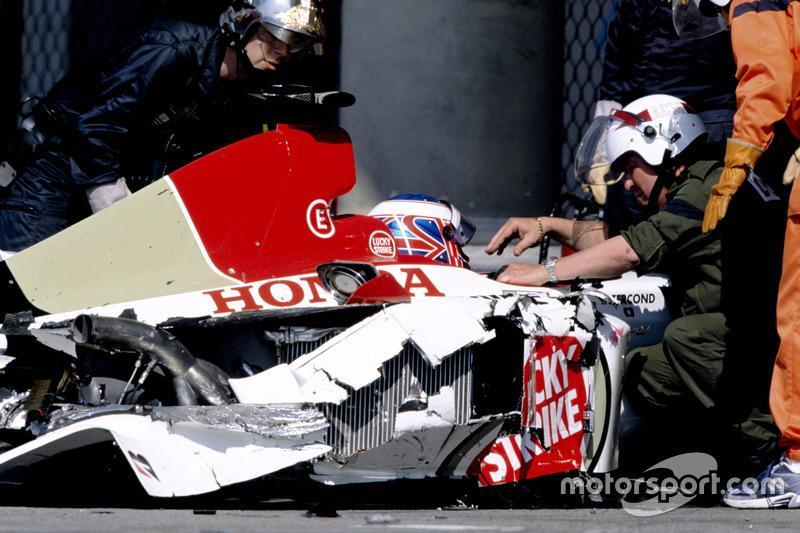 Unfall in Monaco