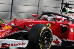 Sebastian Vettel, Ferrari SF16-H mit Halo-Cockpitschutz