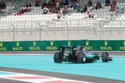 Dreher von Lewis Hamilton, Mercedes AMG F1 W07 Hybrid