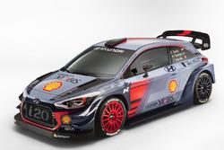 Hyundai 2017 i20 Coupe WRC unveil