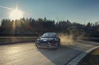 World Rallycross 写真 - Alexander Wurz tests the World RX Team Austria Ford Fiesta