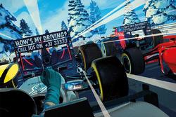 Carte de vœux de Red Bull Racing