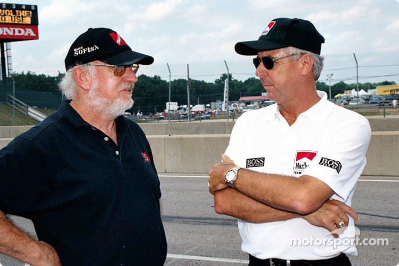 Gordon Kirby and Rick Mears