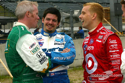 Paul Tracy, Patrick Carpentier and Kenny Brack