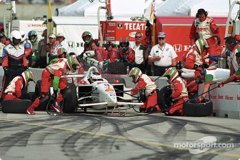 Pitstop for Michel Jourdain Jr.