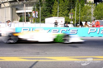 Christian Fittipaldi in a motion blur