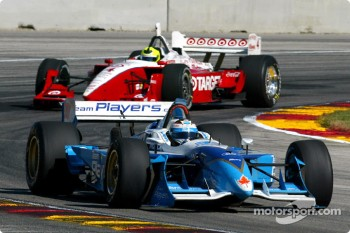 Alex Tagliani and Bruno Junqueira