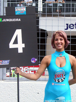 Bruno's grid girl